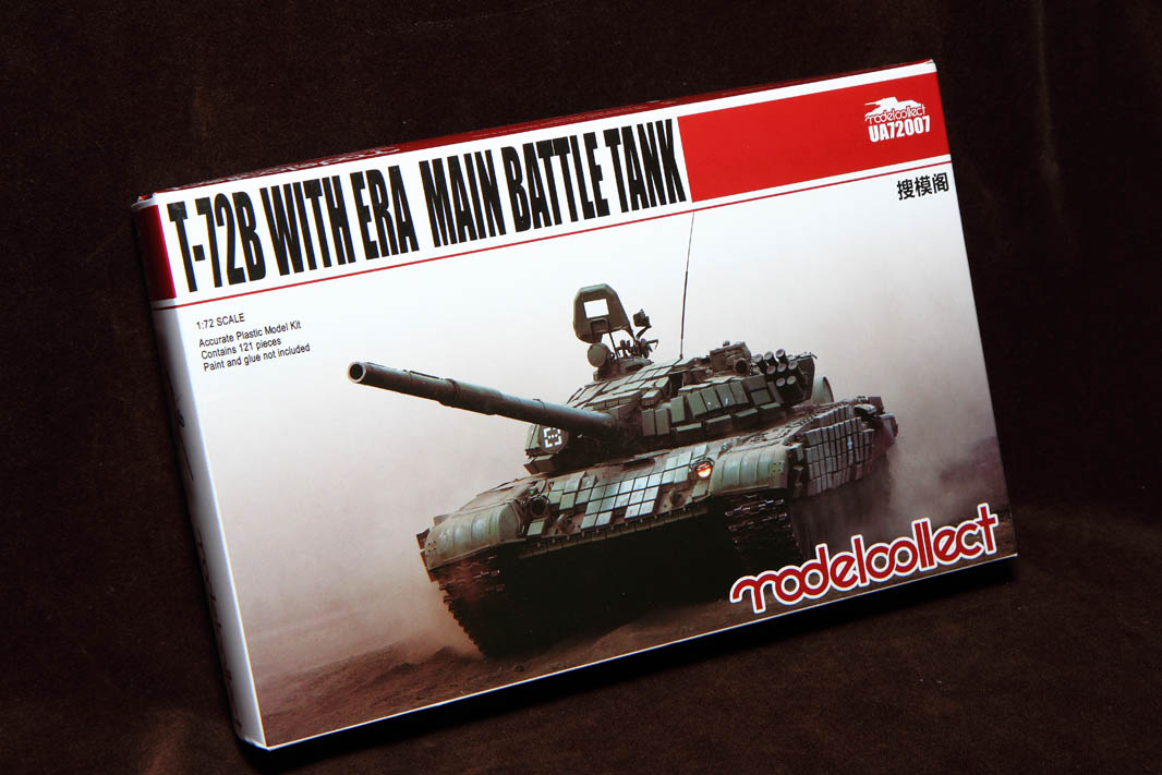 Modelcollect 1/72 Т-72Б (#72007)