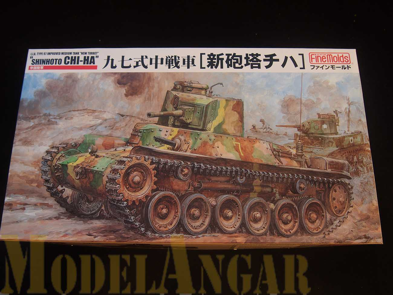 "FineMolds 1/35 Танк ""Chi-Ha"" (#fm21)"